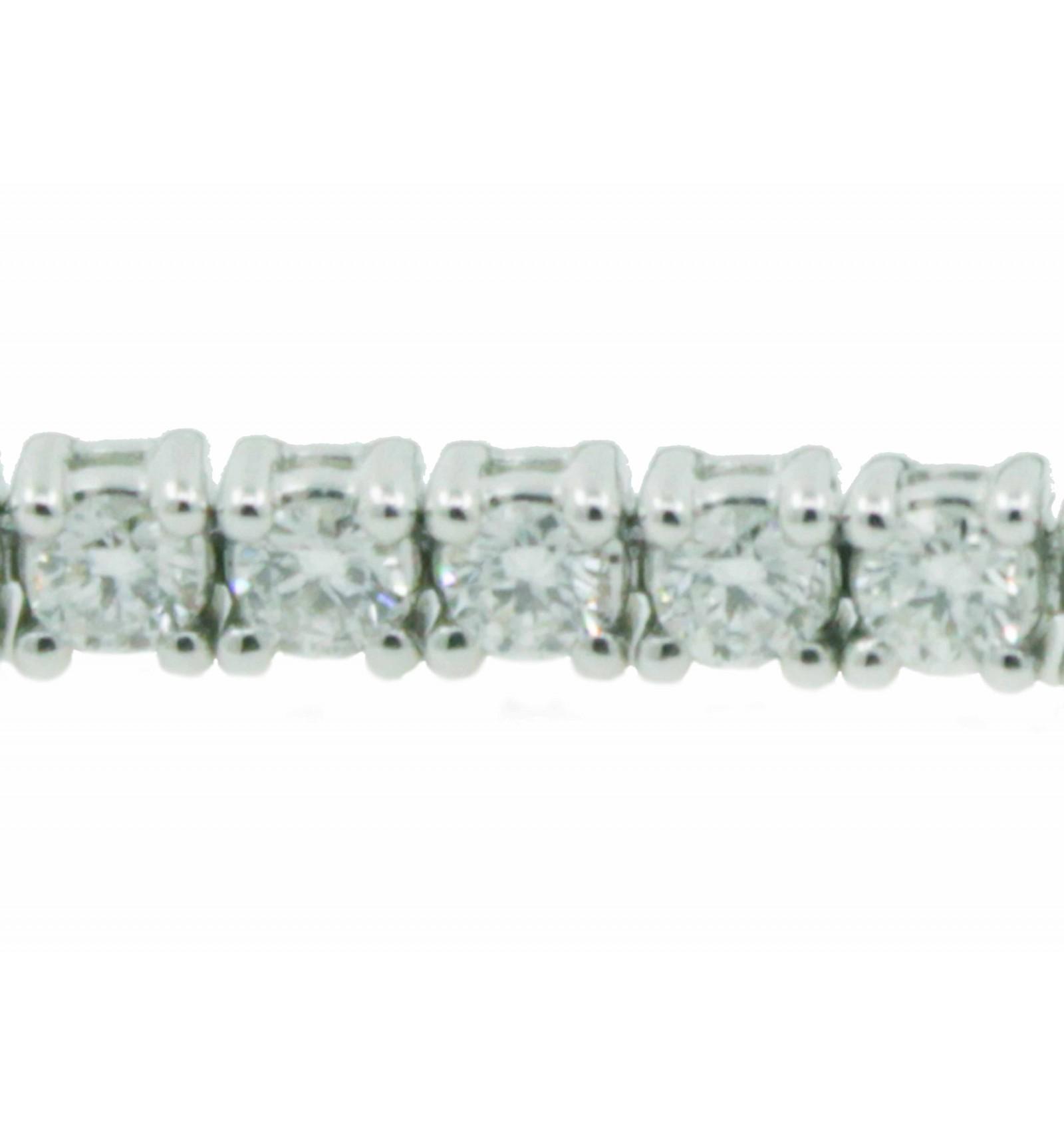 d2b176a12cb4 Pulsera de oro blanco (18K) con diamante - Lopez Joyeros