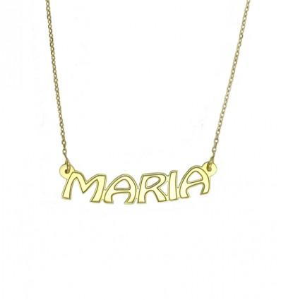 Tu nombre en oro (18 K)