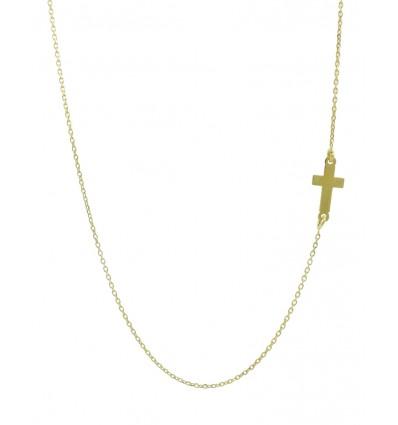 Colgante de oro amarillo (18K) con cadena