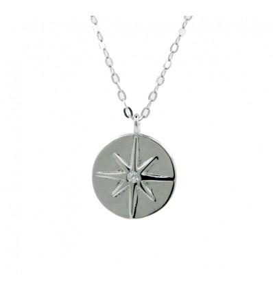 Doble círculo de plata