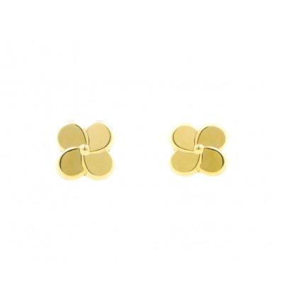 Pendientes de oro amarillo (18K)
