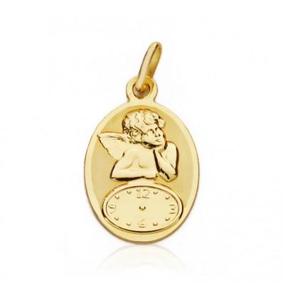 Medalla para bebé de oro 18K